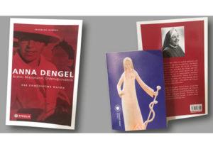 """Titelbild und Rückseite Taschen - Buch """"Das Unmögliche wagen"""" und beigelegter Folder"""