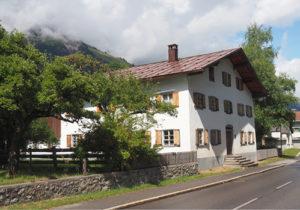 Spuren - Geburtshaus von Anna Dengel in Steeg