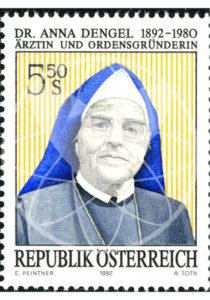 Spuren - Briefmarke zum 100. Geburtstag von Anna Dengel